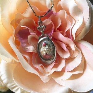 Jewelry - Handmade Dried Flower Necklace